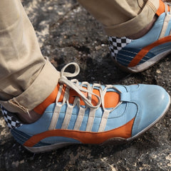 Racing Sneaker Light Blue