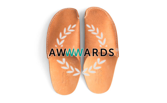 CP Slippers Design Receives Awwwards Nomination