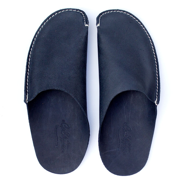 8f1fcb2f311 Leather Slippers Home Shoes by CP Slippers