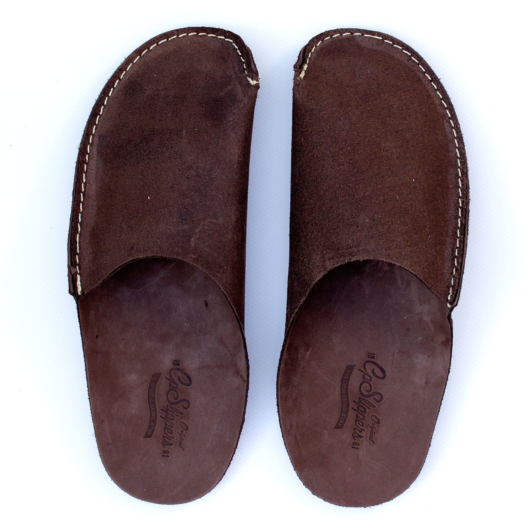 Brown CP Slippers minimalist collection for man and woman