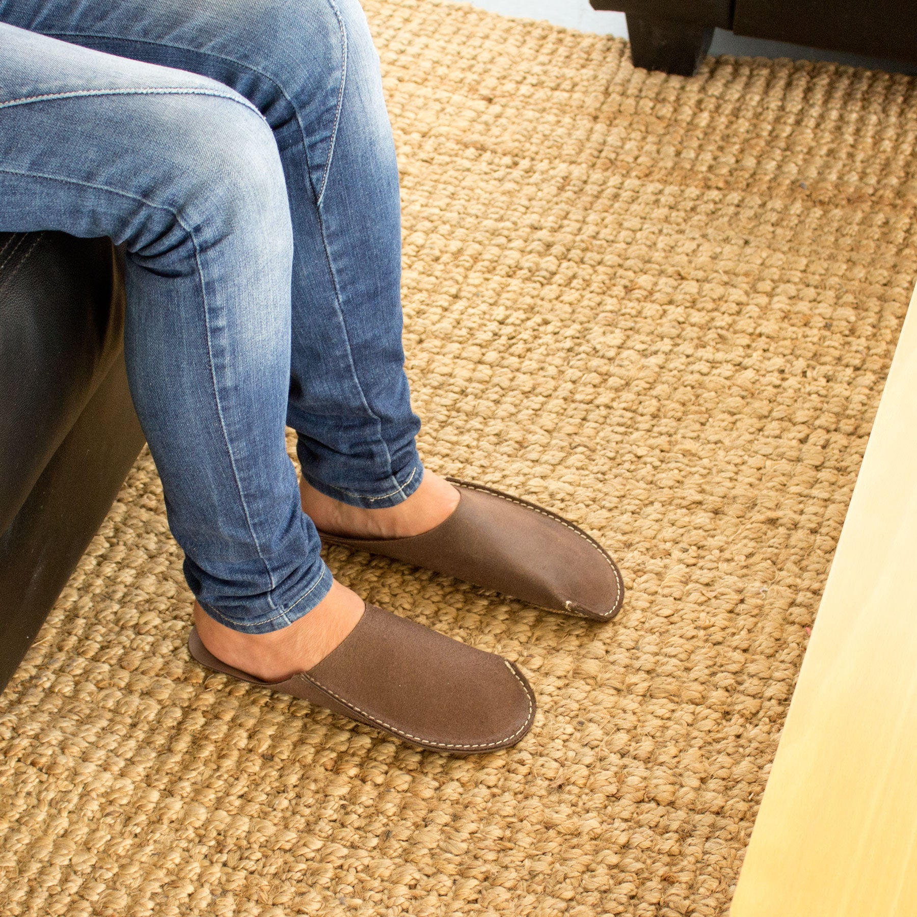Brown CP Slippers minimalist for man and women