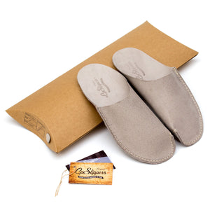 Gray CP Slippers minimalist for home shoes
