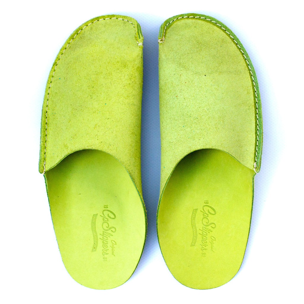 Green CP Slippers minimalist for man and woman