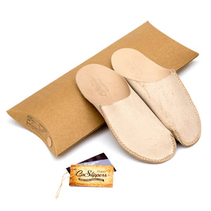 Natural CP Slippers minimalist for man and woman