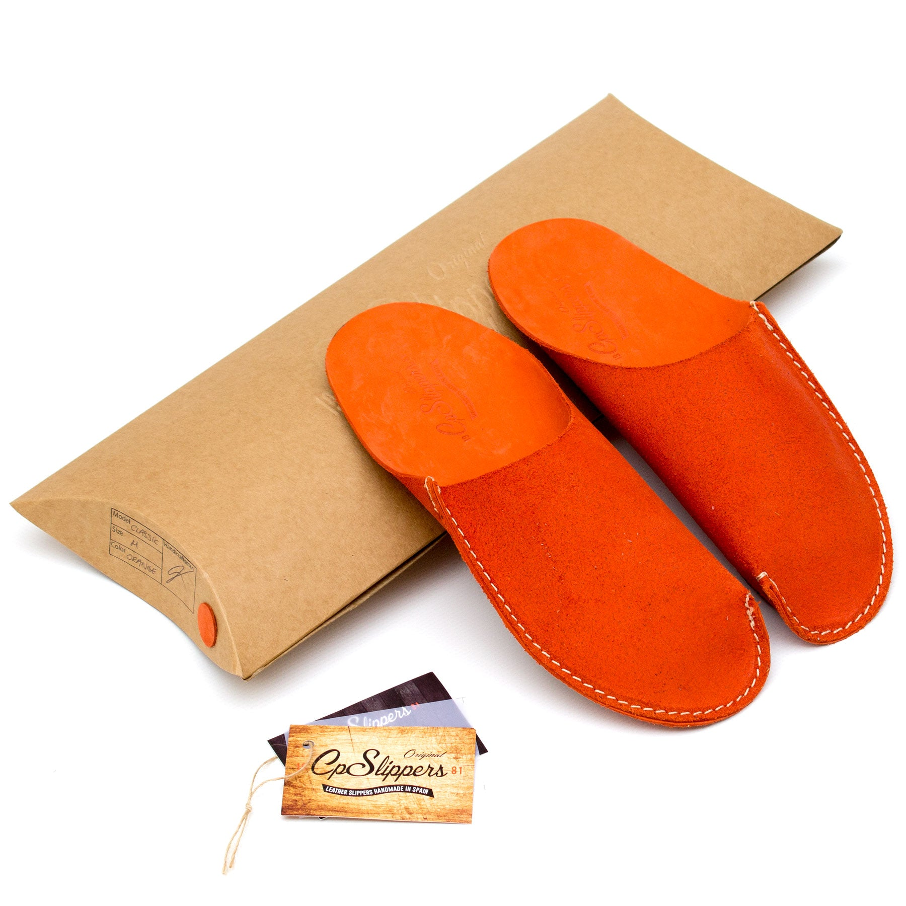 Orange CP Slippers minimalist collection home shoes
