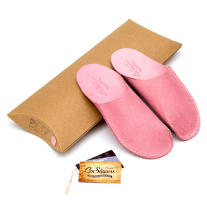 Pink CP Slippers minimalist home shoes for woman