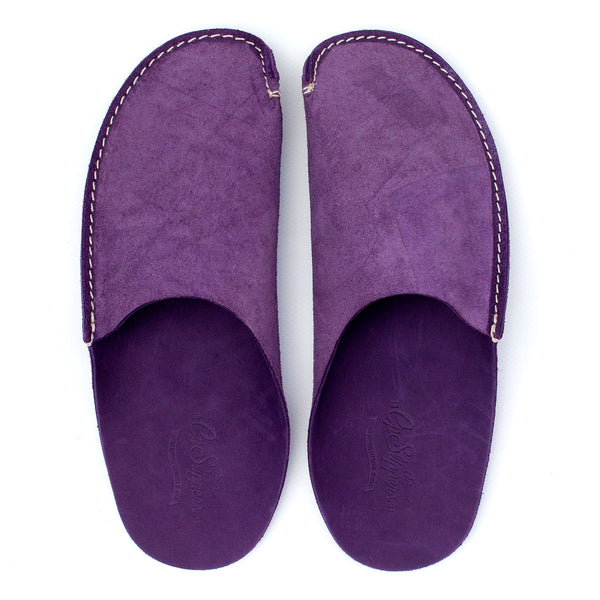 31d17bc10bb6 Violet Leather Slipper for men and women by CP Slippers
