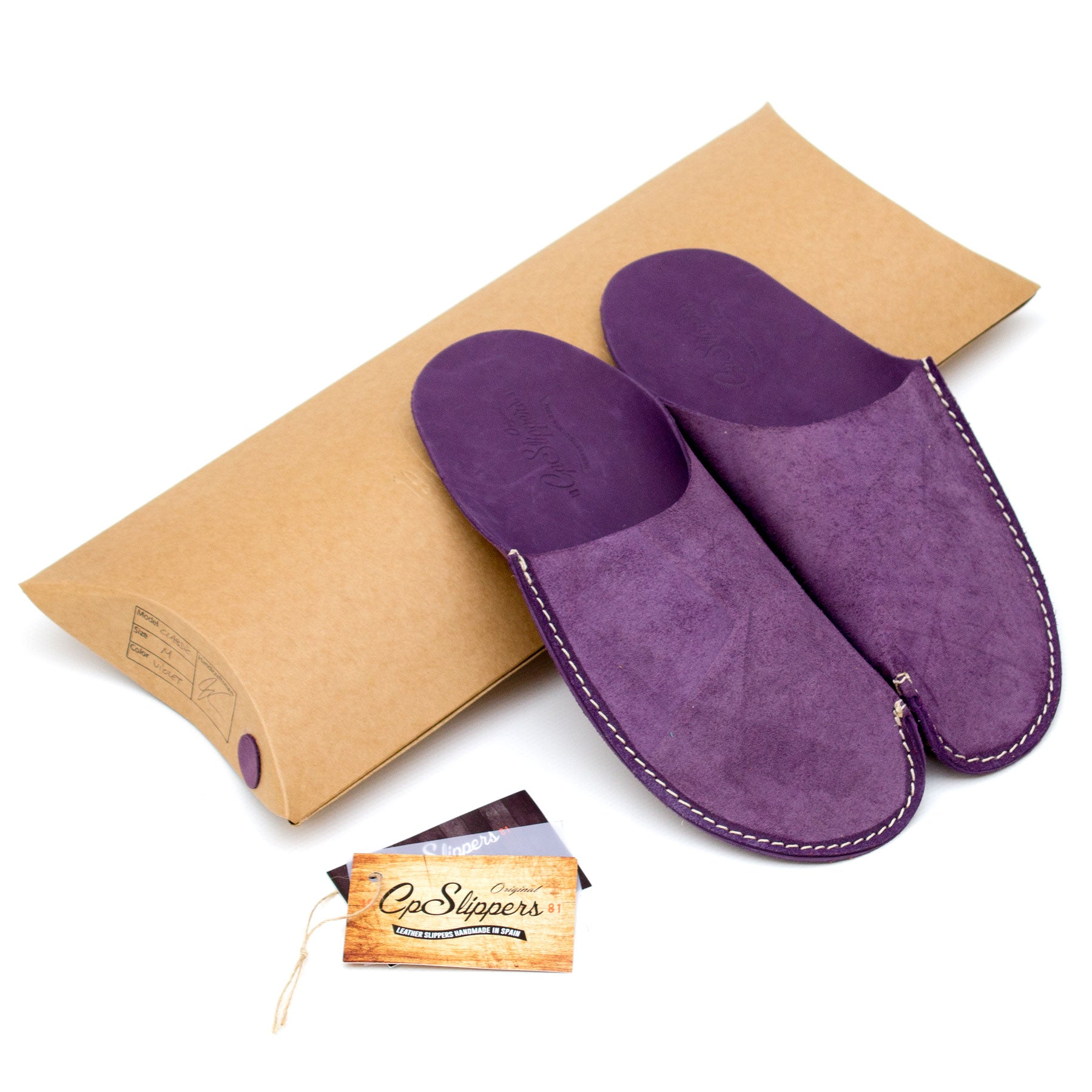 Violet CP Slippers Minimalist slippers for man and woman