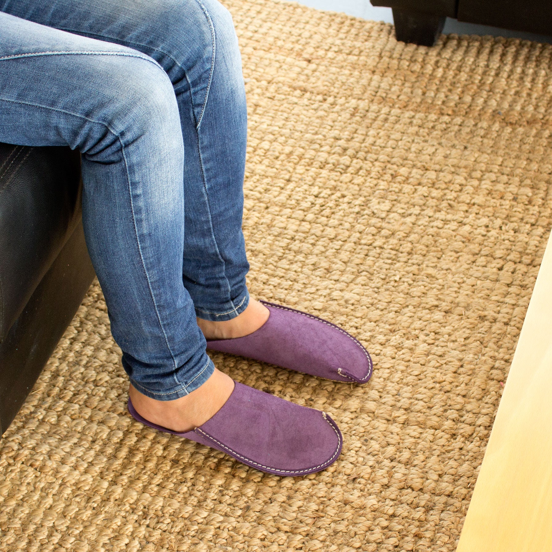 Violet CP Slippers Minimalist home shoes for man and woman at home