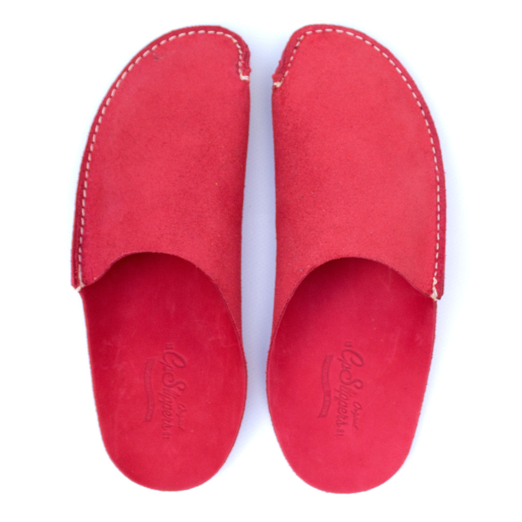 Red CP Slippers minimalist home shoes for man and woman