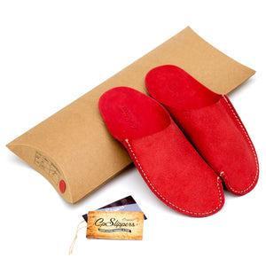 Red CP Slippers home shoes to stay at home