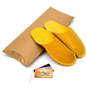Yellow CP Slippers Minimalist for man and woman