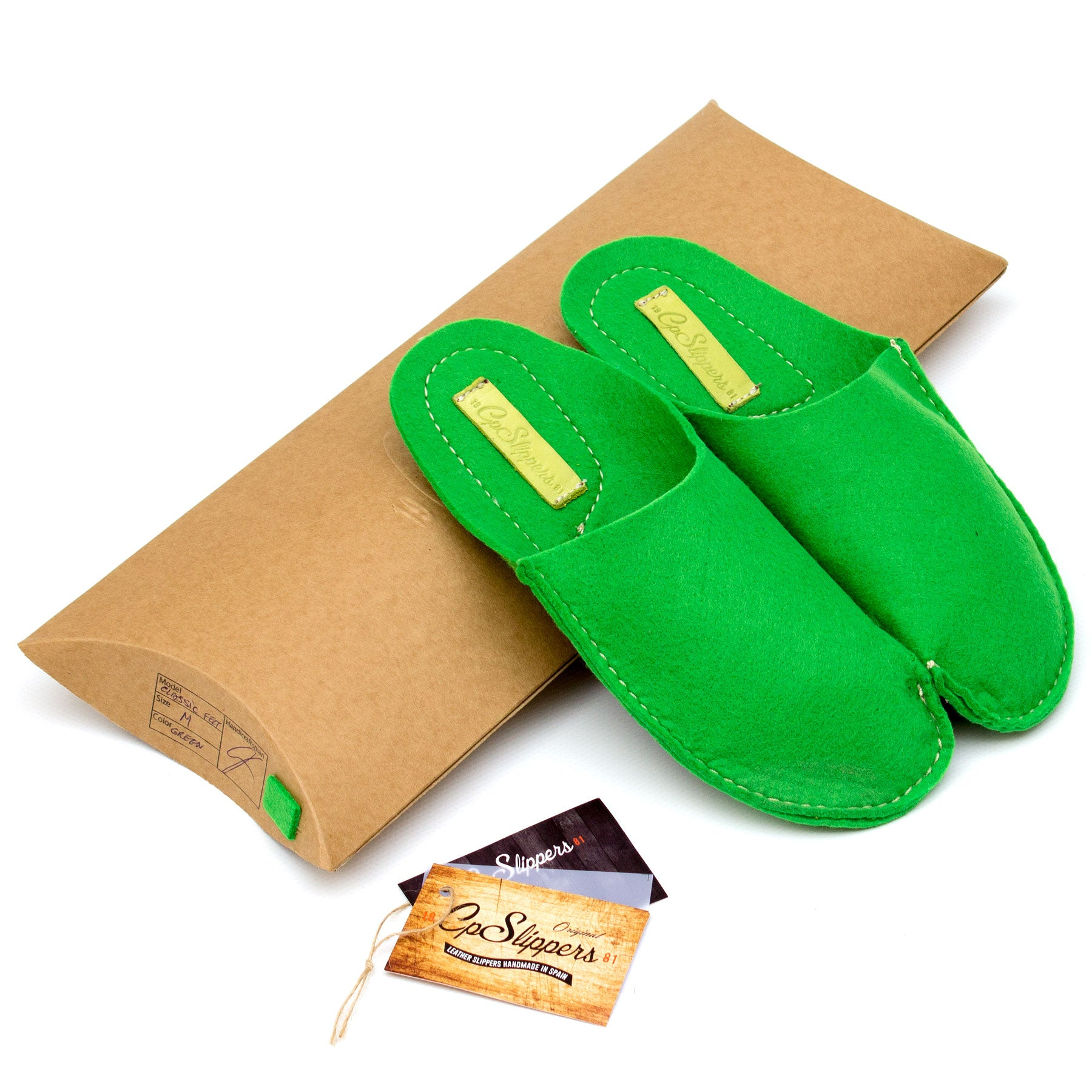 Green CP Slippers Classic - CP Slippers