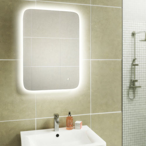 Warm/Cool White Back Lit Mirror (Click To View Various Sizes)
