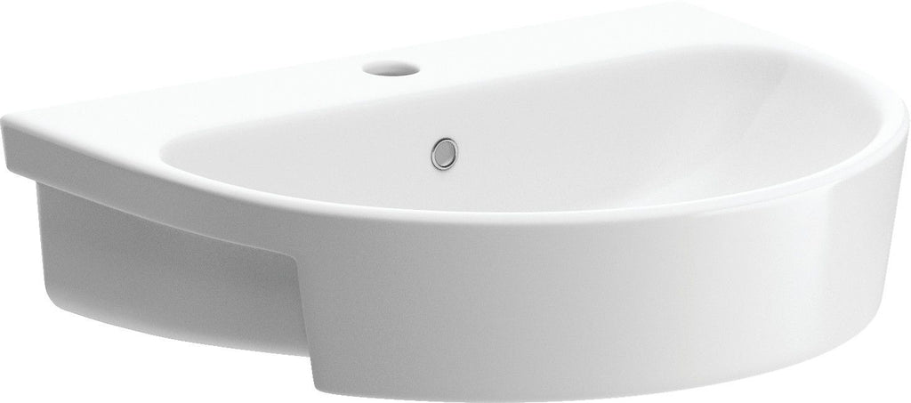Cilantro semi recessed basin