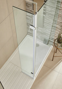 Koncept Wet Room Screen and 300mm Optional Return Panel
