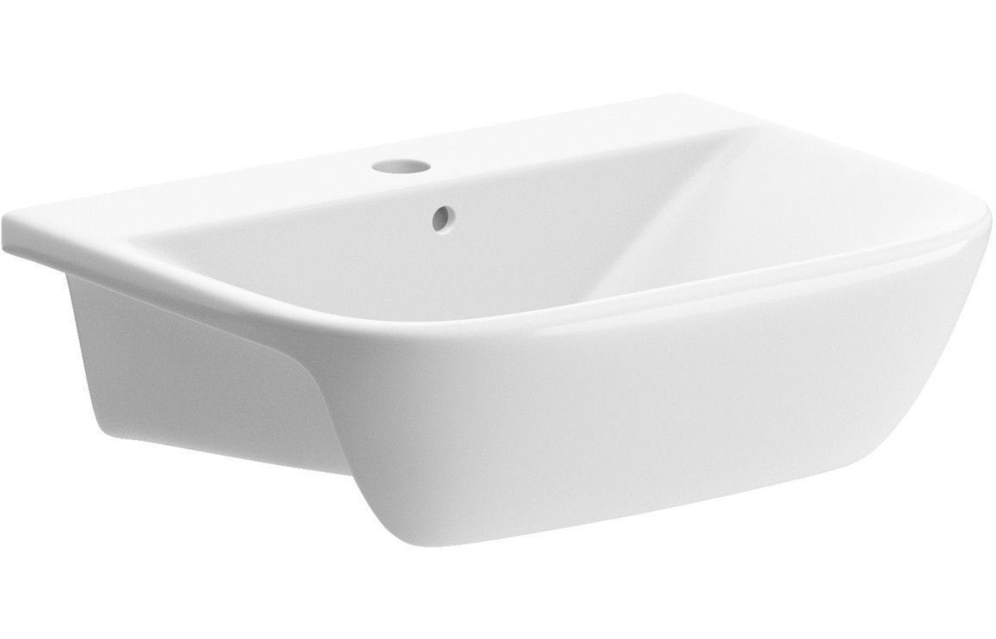 Cedarwood Semi Recessed Basin