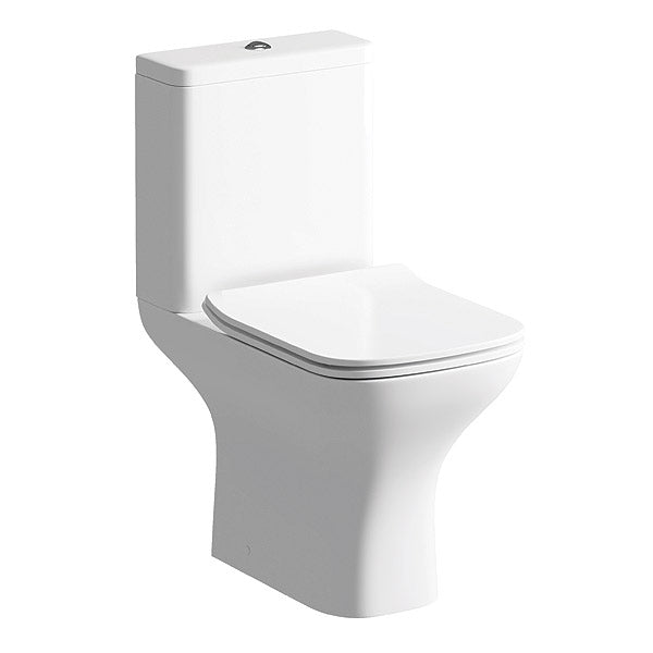 Cedarwood toilet
