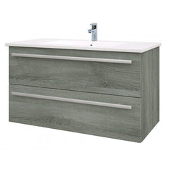 Purity Wall Mounted Drawer Unit & Basin (Click To View Various Sizes/Colour Options)