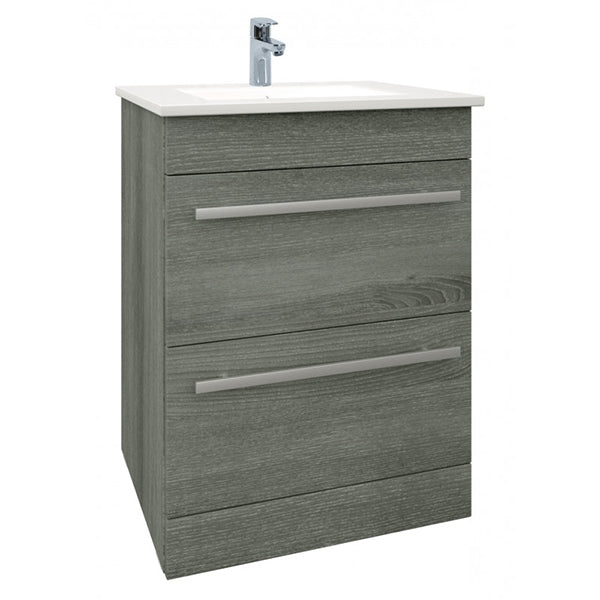 Rogerseller Fold Single 750 Heated Towel Rails: Purity Floor Standing Drawer Unit And Basin (Click To View