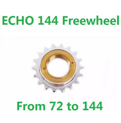 [ FREE shipping ] ECHO TI 144 Splined and Screw-on Freewheel for Bike Trials