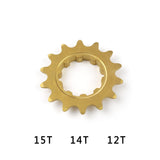 [ FREE shipping ] ECHO TI Splined and Threaded Cog Sprocket for BikeTrials