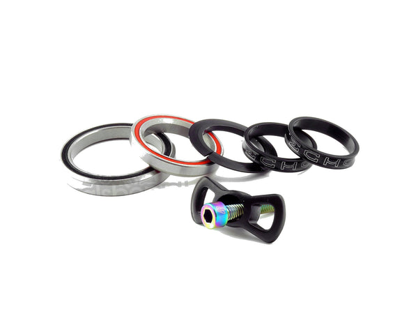 [ FREE shipping ] ECHO Tapered Headsets with TI bolts for Trial Bikes