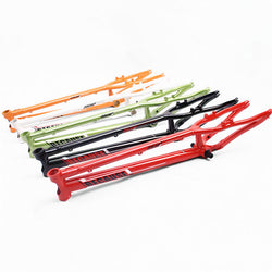 [ FREE shipping ] NEON BECAUSE 24'' Frame with Headsets for Bike Trials