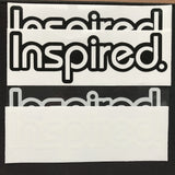FREE 4pcs/set Inspired Vinyl Stickers