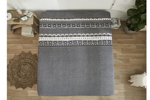 Hoeslaken matras - Dreamhouse Bedding - Scandinavian - Antraciet
