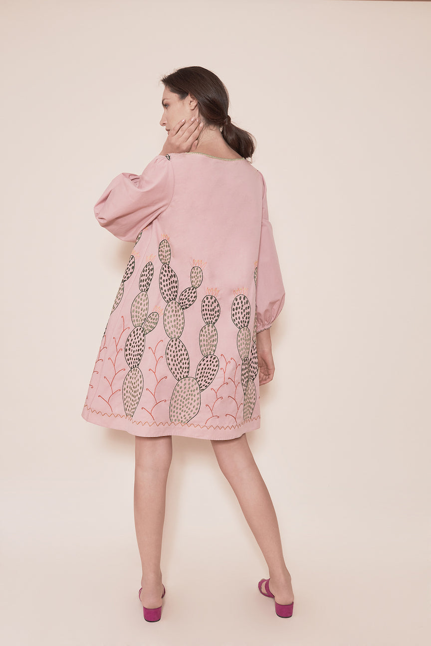 THE NOPALES DRESS - PINK