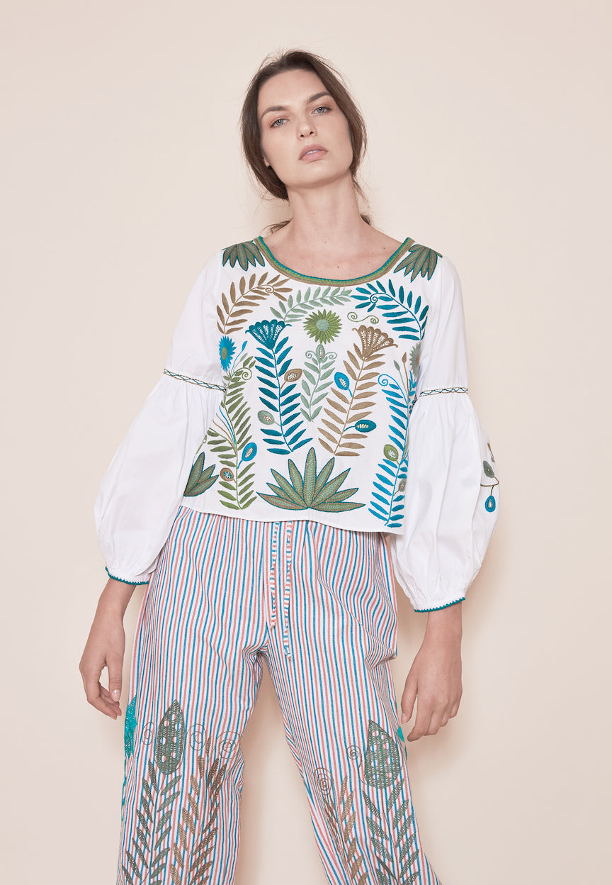 THE SONORA FOLK BLOUSE