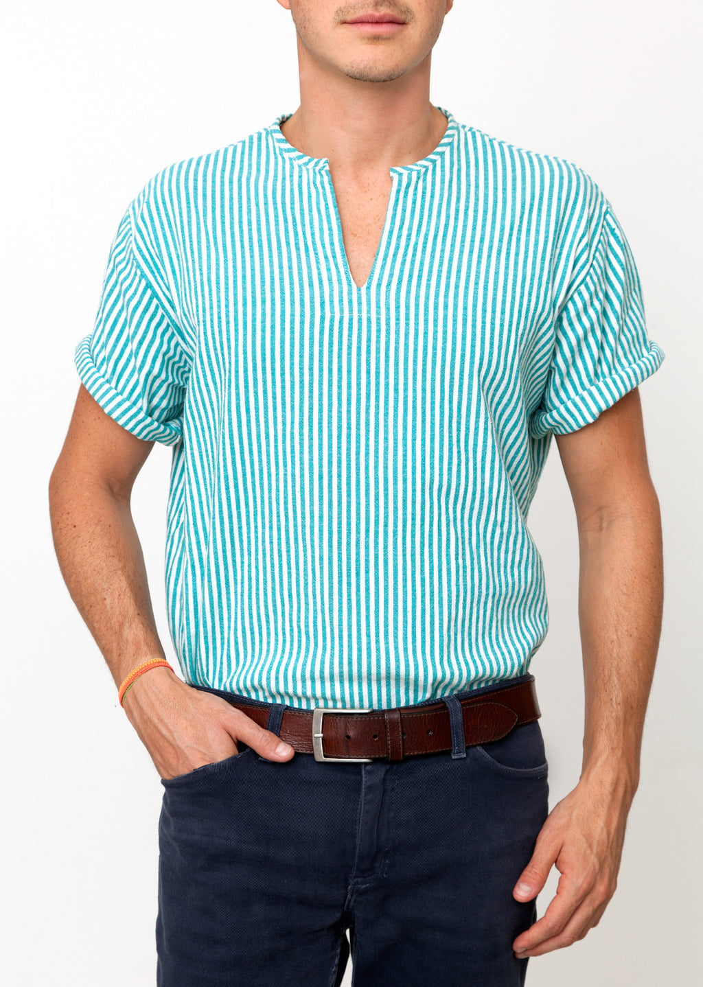 THE RIVIERA SHIRT IN GREEN
