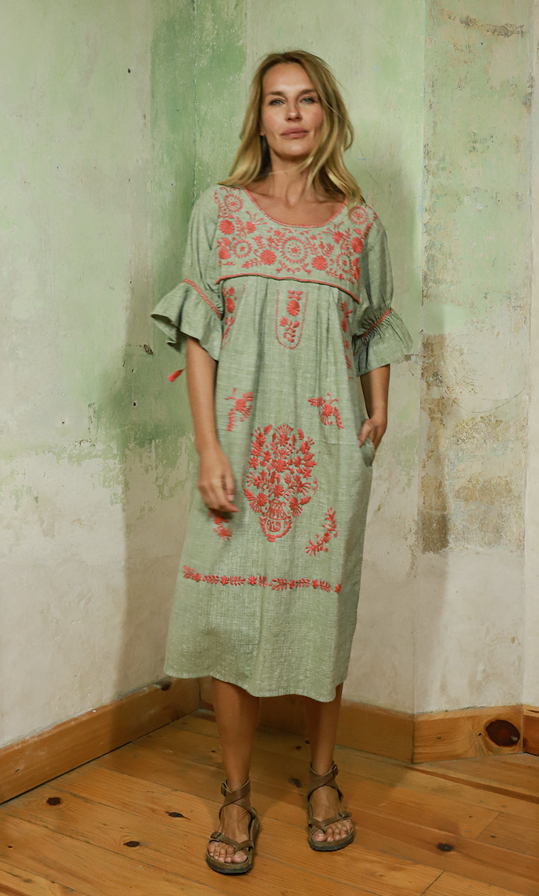SANTA LUPITA ORGANIC SUMMER DRESS I (PRE-ORDER)