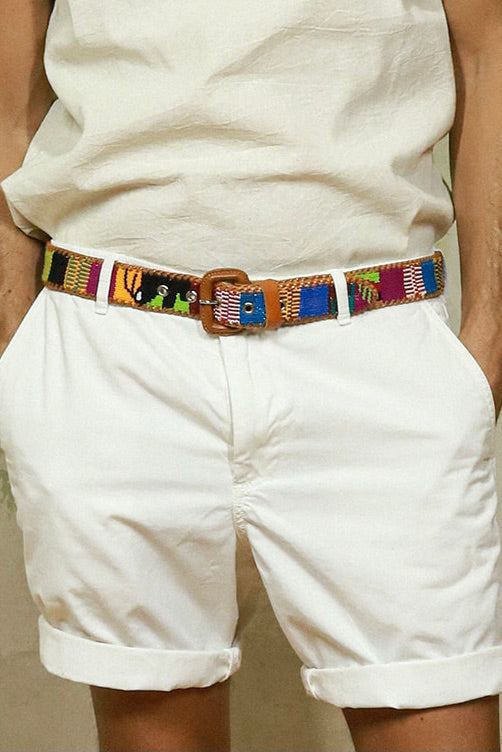 THE BOYFRIENDS LEATHER BELT