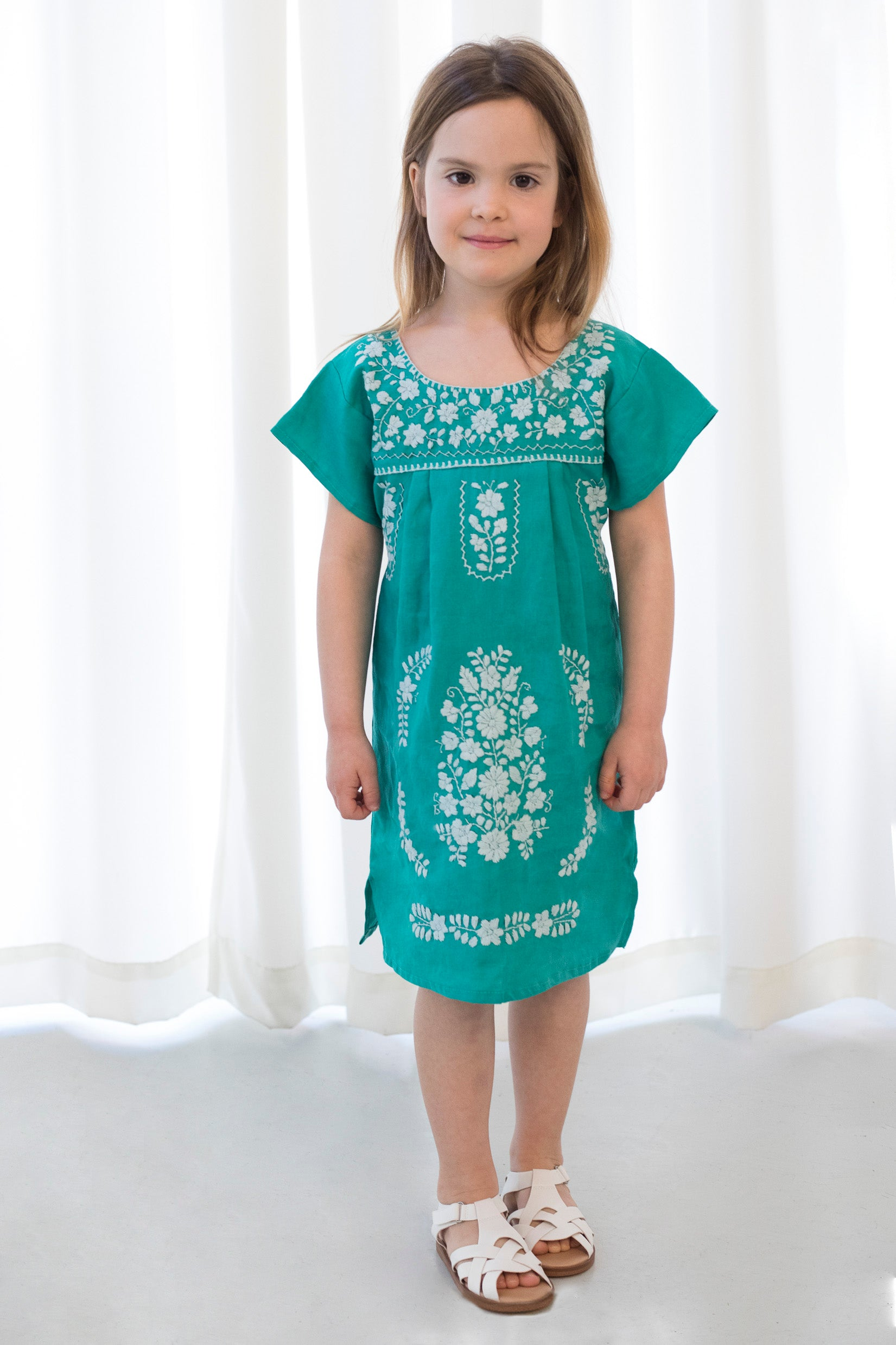 THE GIRLS JADE DRESS