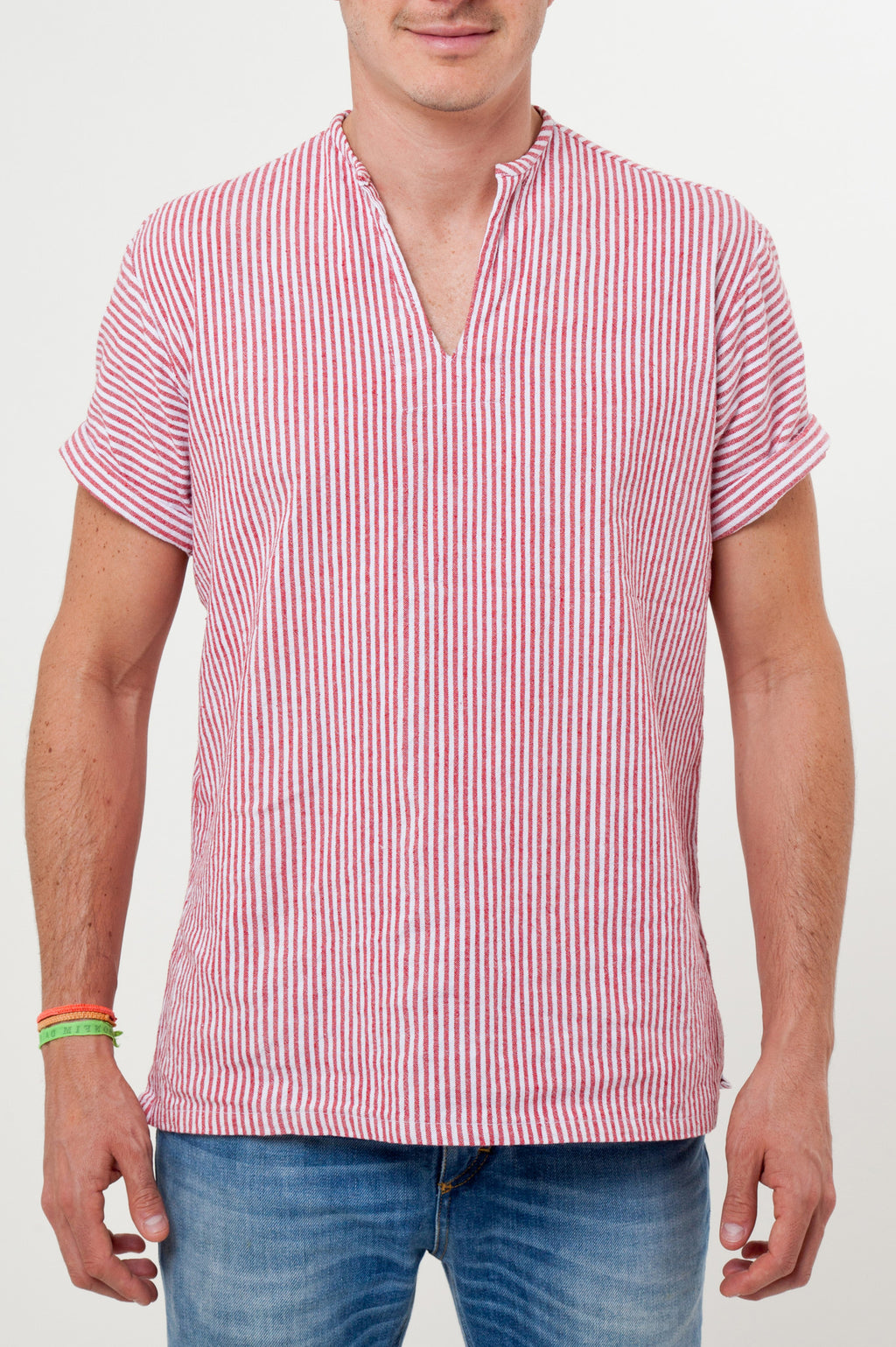 THE RIVIERA SHIRT IN RED
