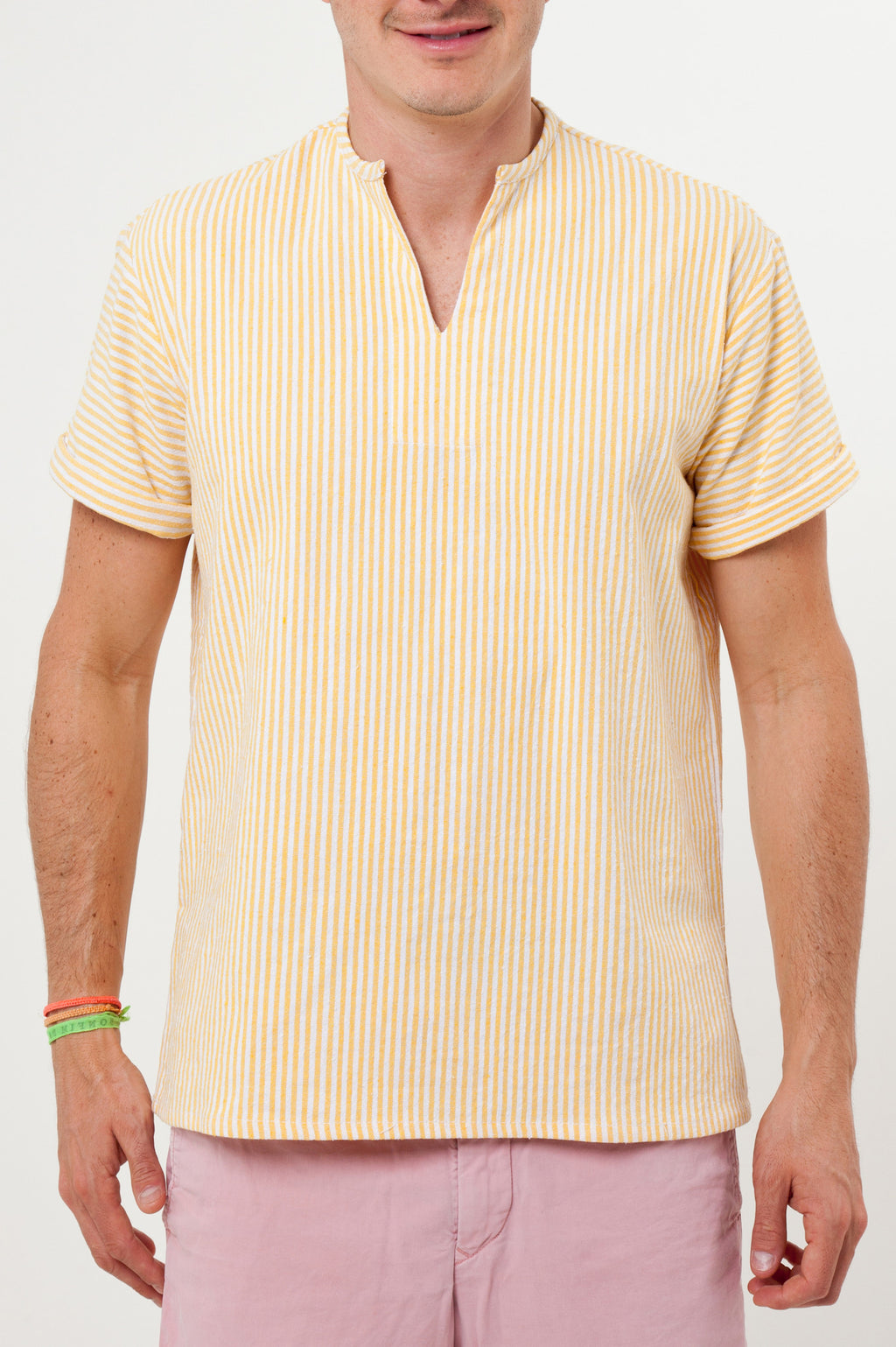 THE RIVIERA SHIRT IN YELLOW