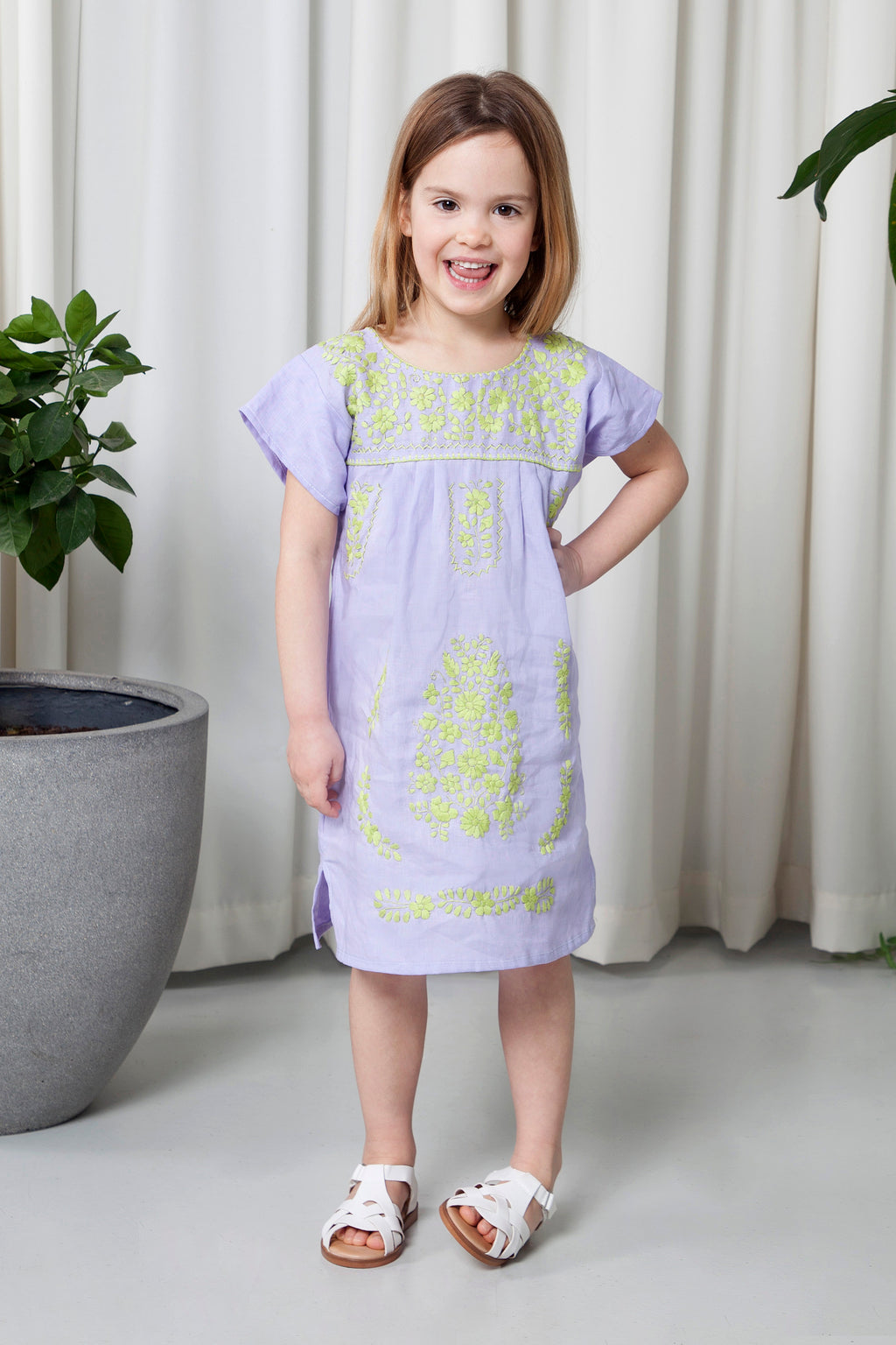 THE GIRL SPRING DRESS