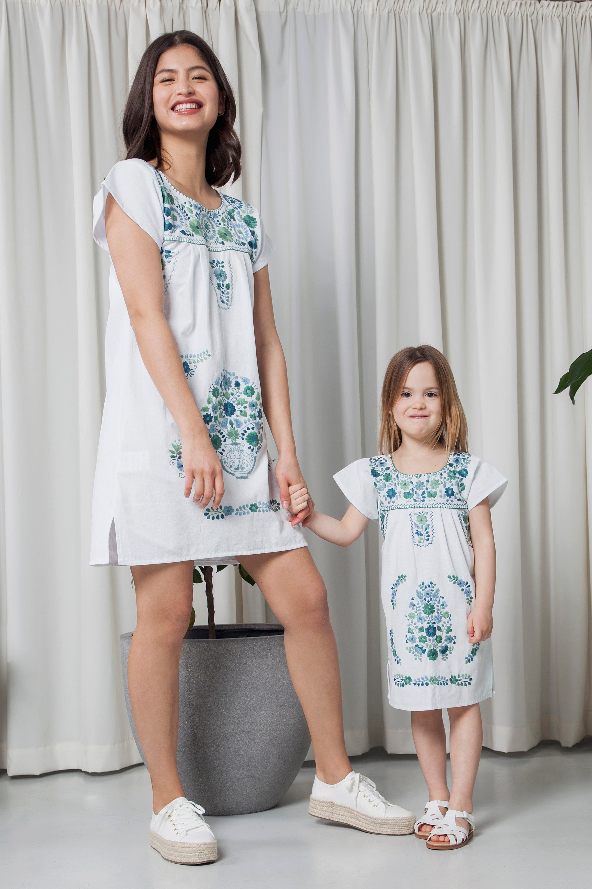 THE MOMMY´S AQUA DRESS