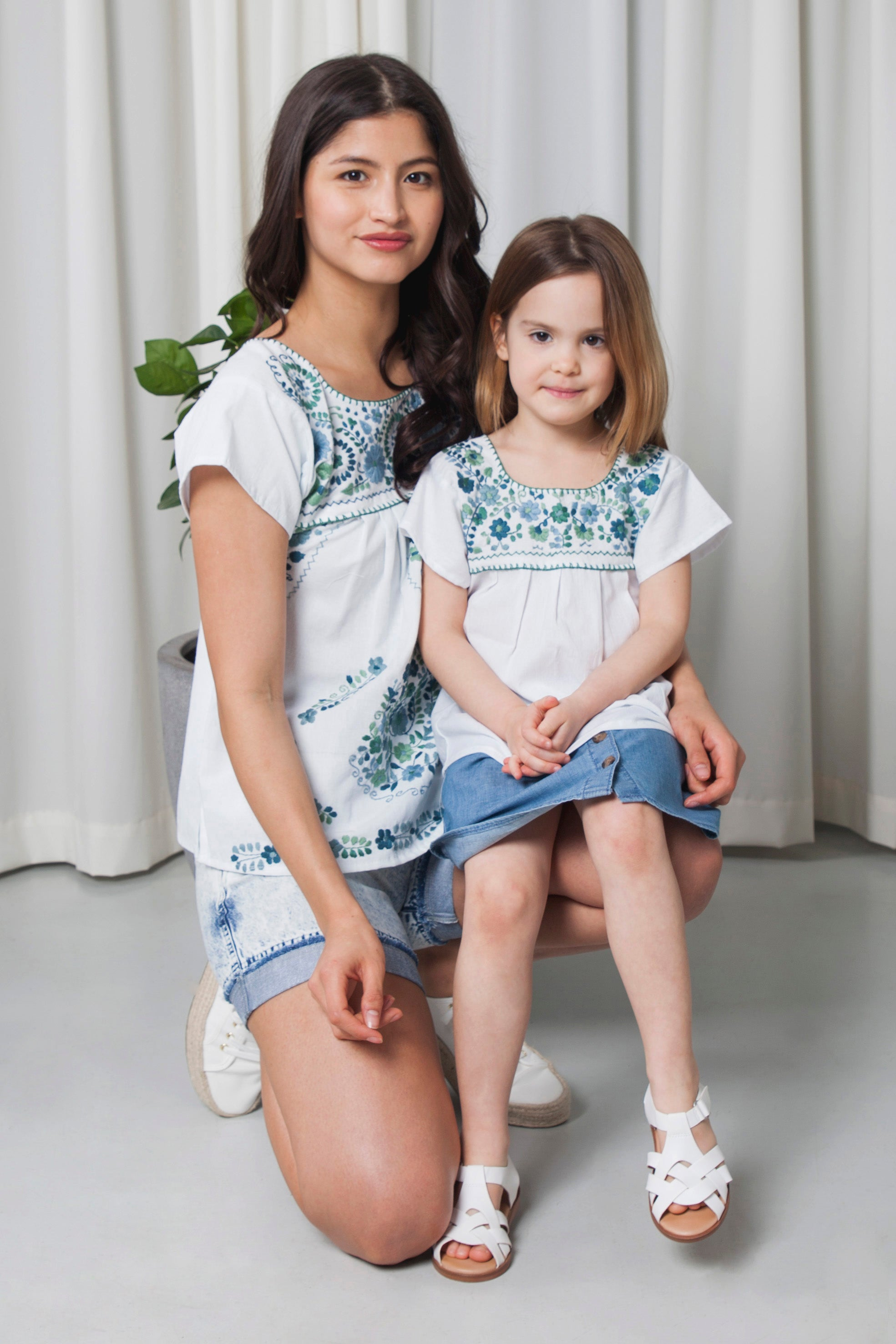 THE MOMMY´S AQUA SUMMER TOP