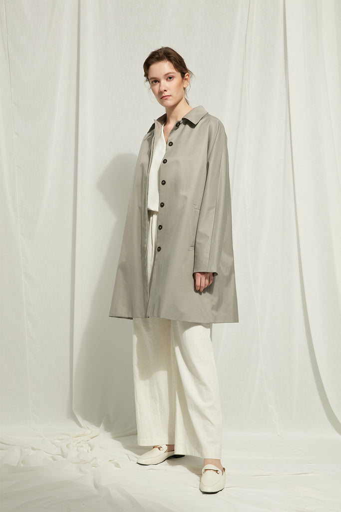 Rashi - Lightweight Buttoned Mackintosh