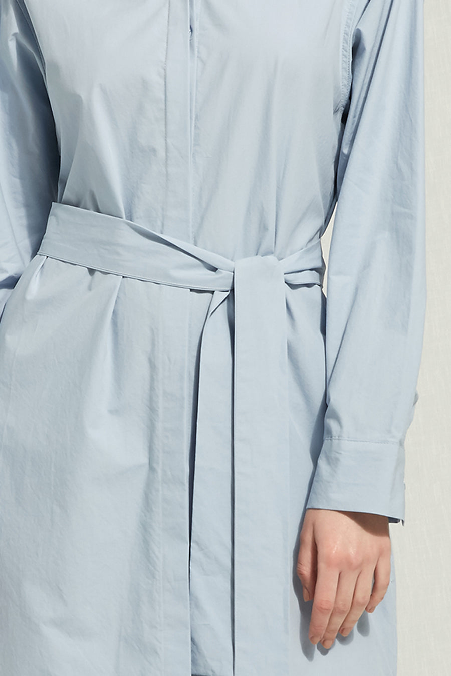 Victoria - Belted Shirt Dress