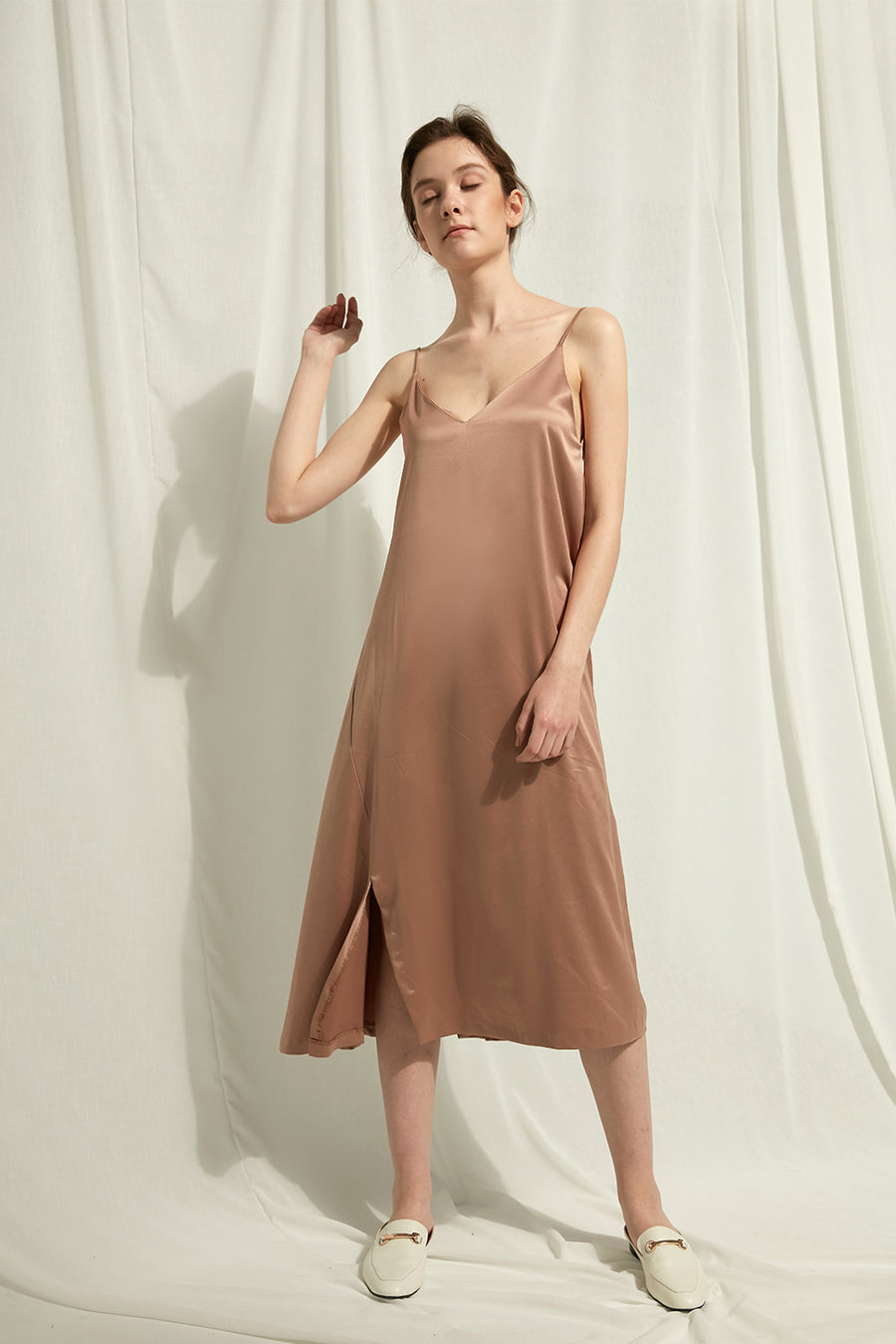 Vivi - Satin Slip Dress