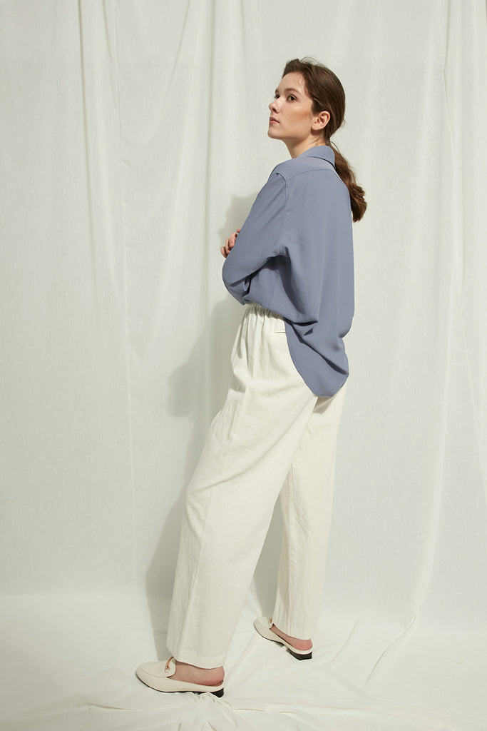 Cecile - Long-Collared Shirt - Zelle Studio
