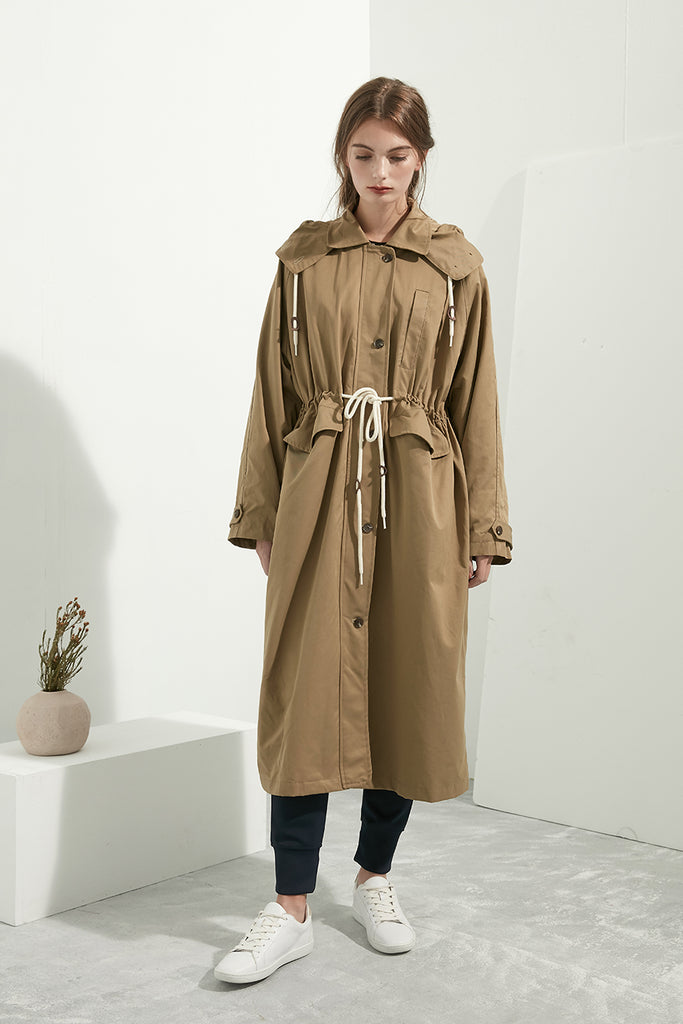 Extra Long Fisherman Coat - Zelle Studio