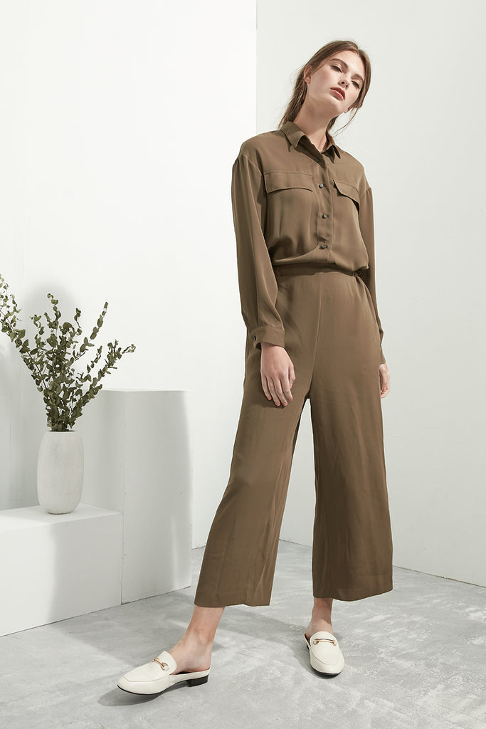 Moss Uniform Jumpsuit - Zelle Studio