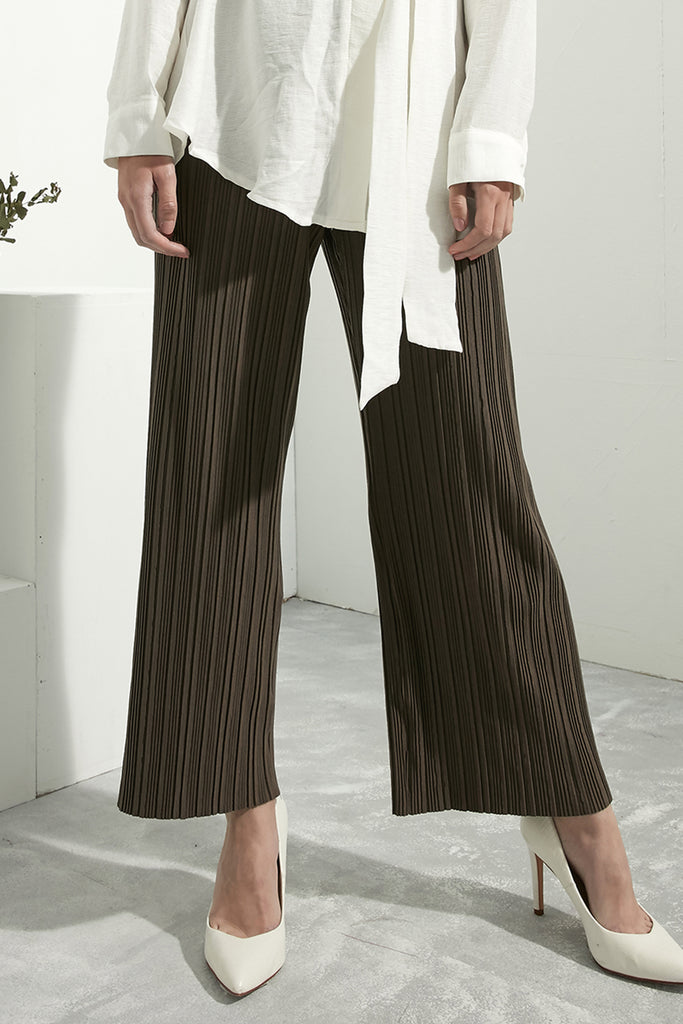 Soft Pleated Trousers - Zelle Studio