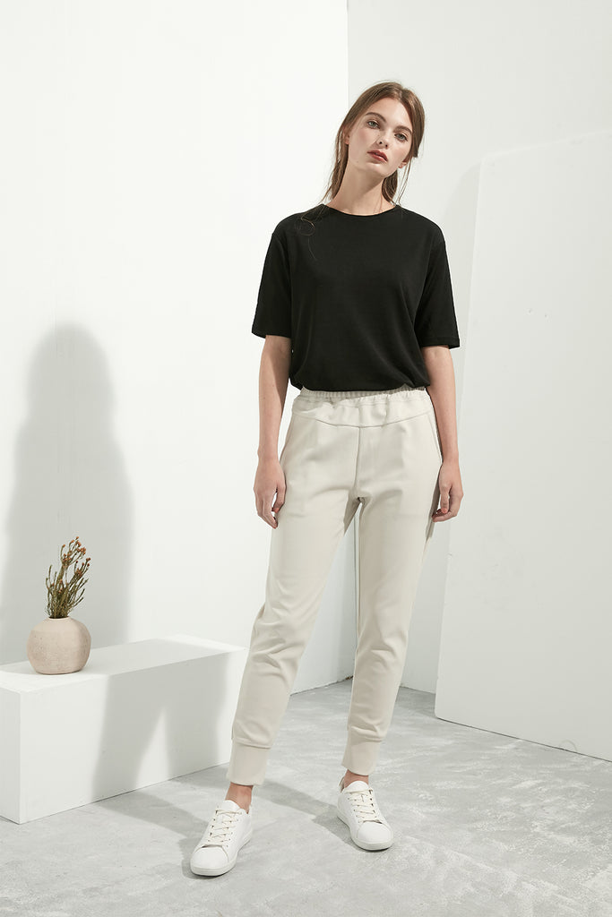 Elasticated Joggers - Zelle Studio