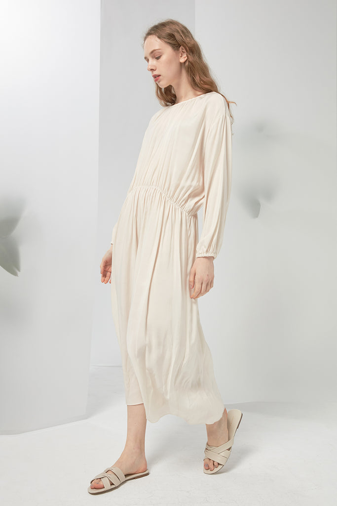 Chiffon peasant dress - Zelle Studio